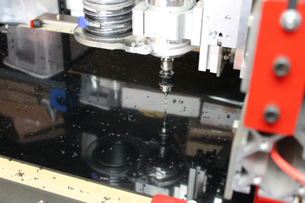 Machining the photogate on CNC Router — Open source physics
